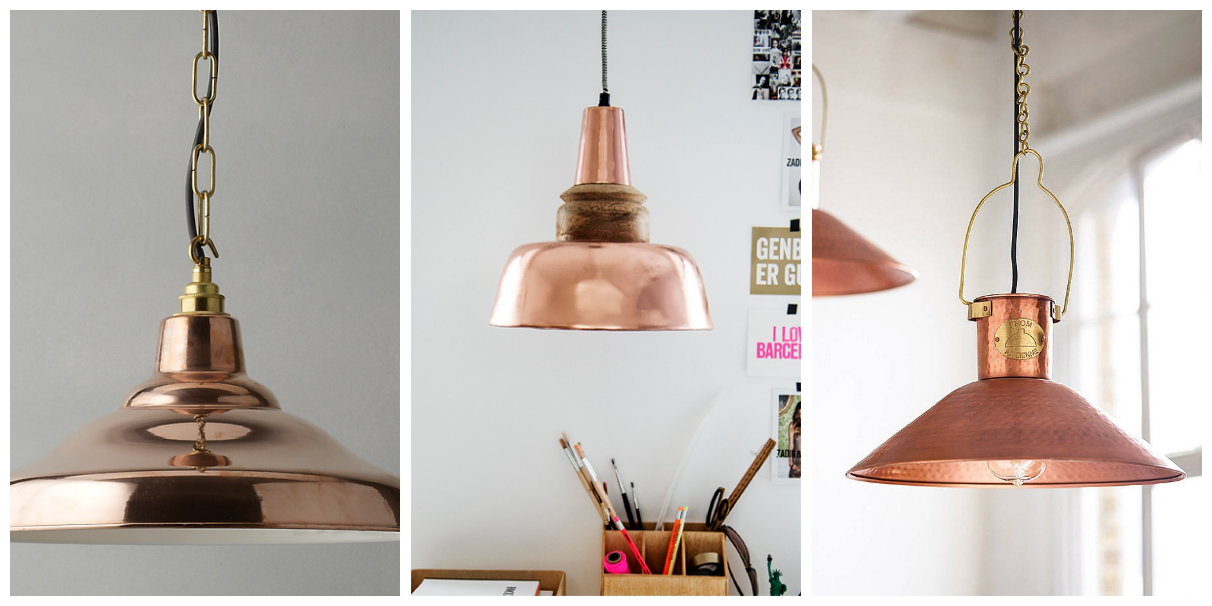 copper ceiling lights photo - 4