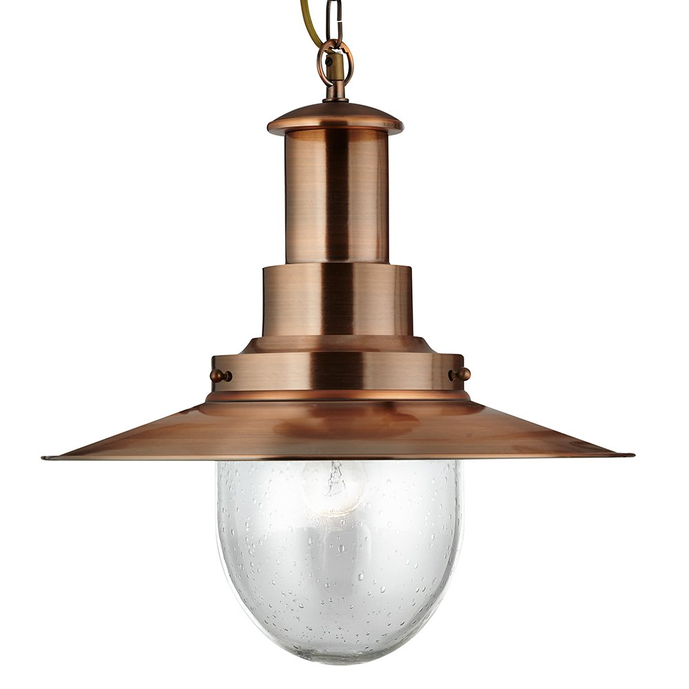 copper pendant ceiling light photo - 10