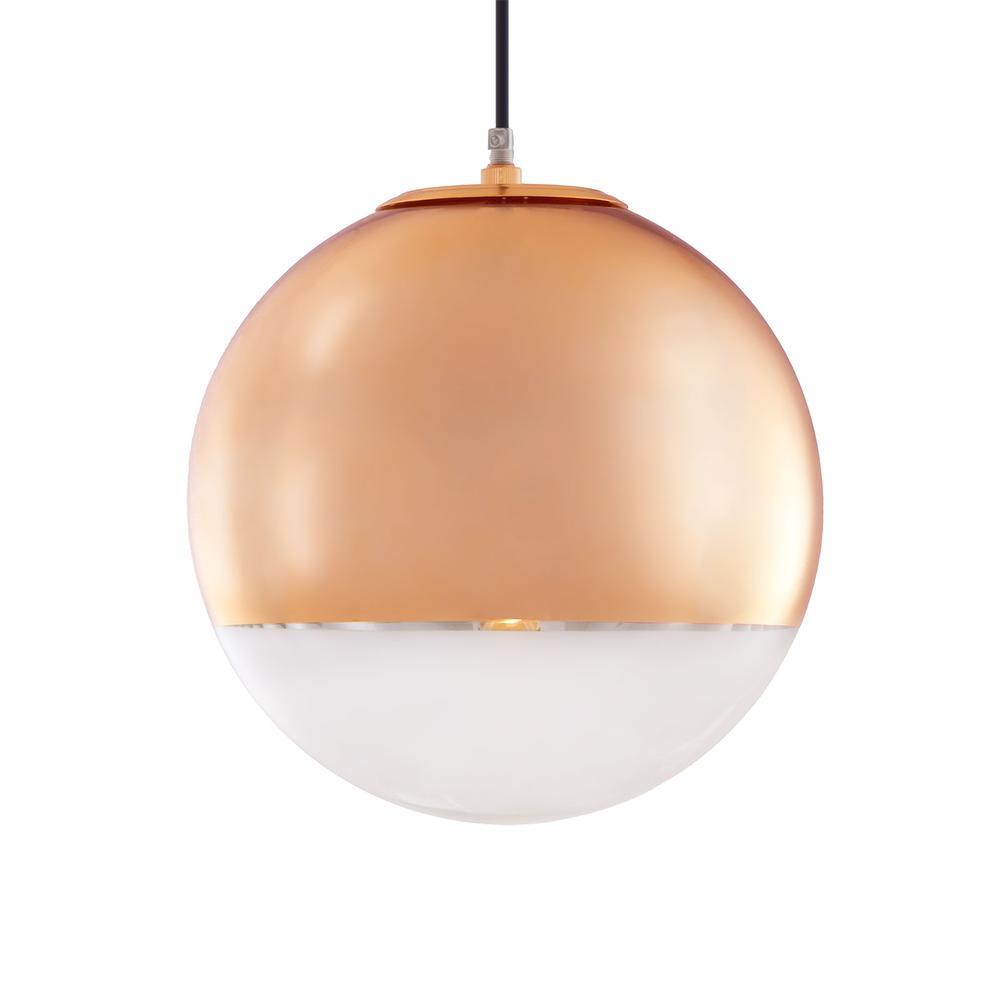 copper pendant lamp photo - 1