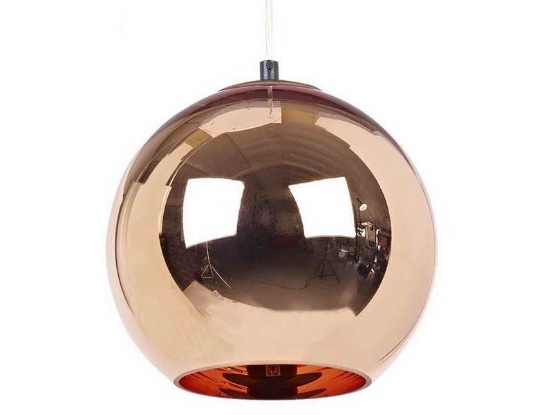 copper pendant lamp photo - 8