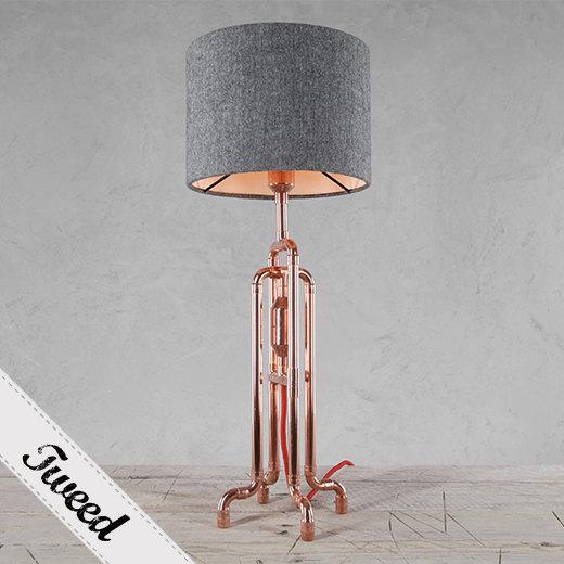Copper Pipe Lamp Warisan Lighting