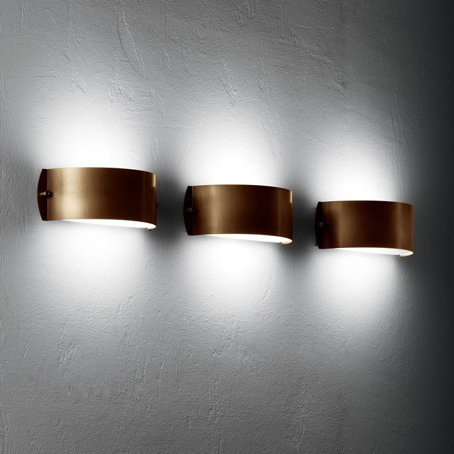 copper wall lights photo - 2
