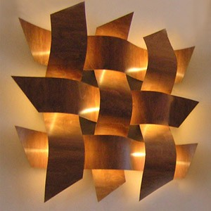 copper wall lights photo 3