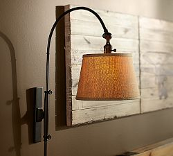 corded wall lights photo - 6