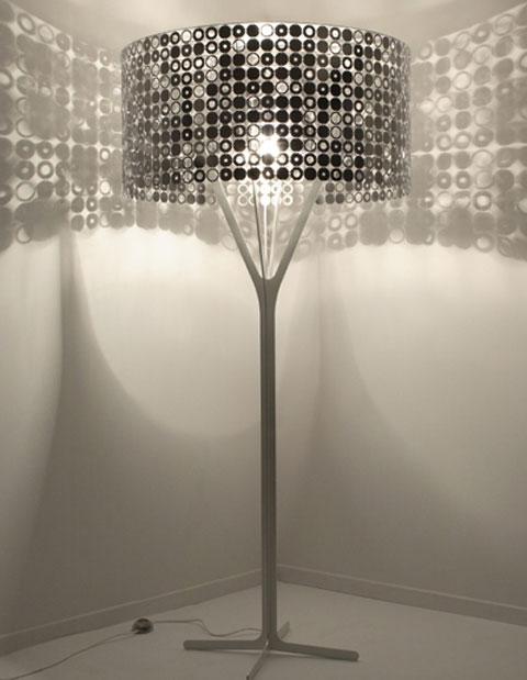 corner floor lamp photo - 3