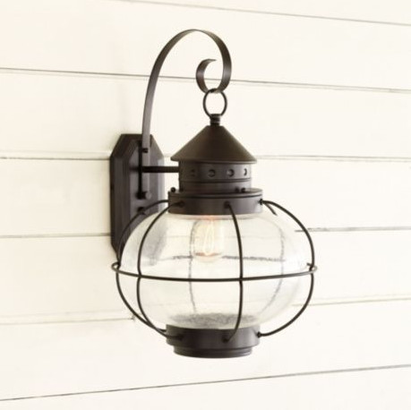 cottage style outdoor lighting photo - 2