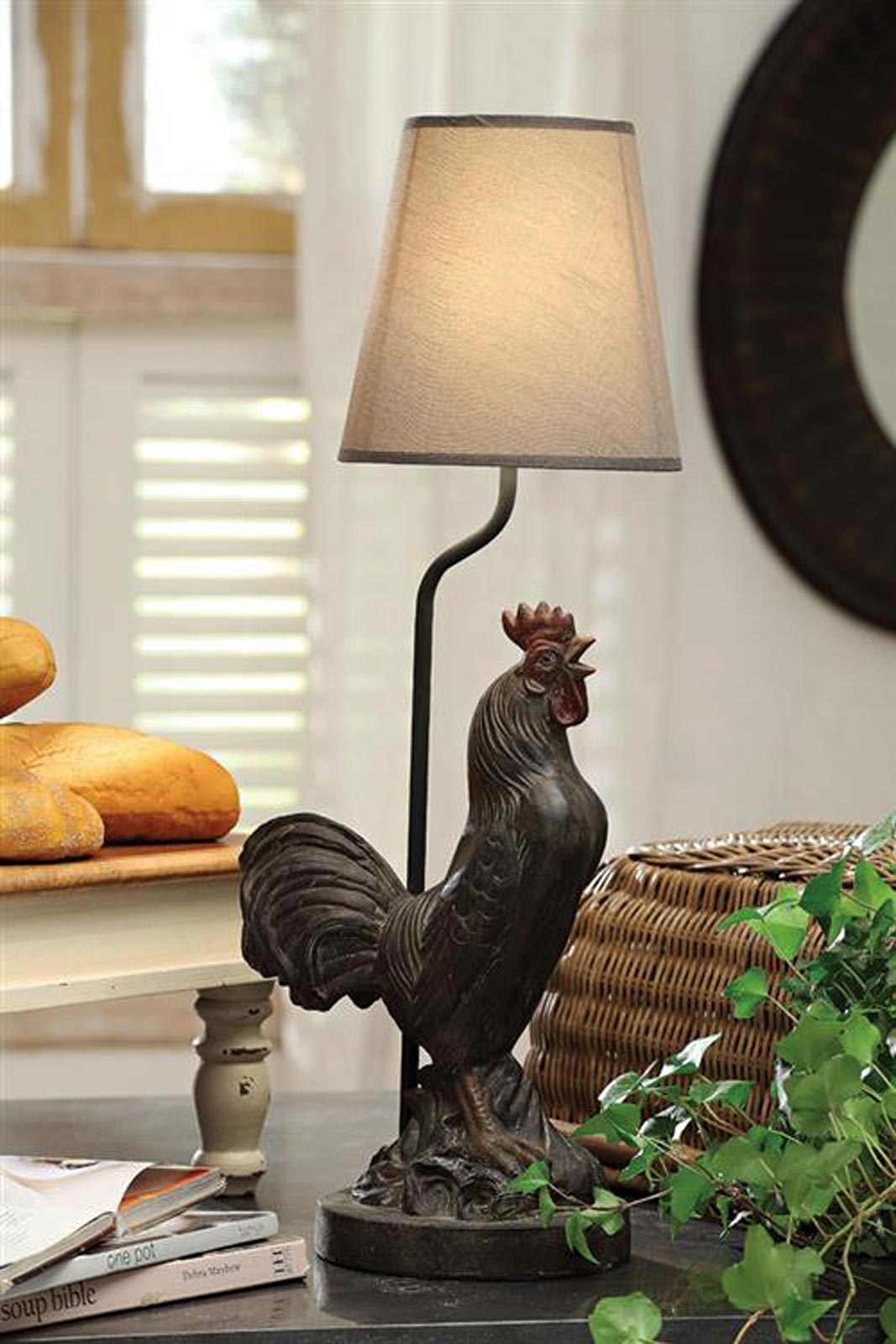 country table lamps photo - 10