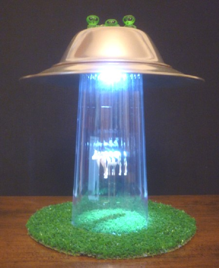 cow abduction lamp photo - 10