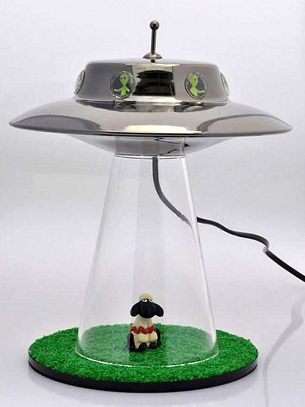 cow abduction lamp photo - 3