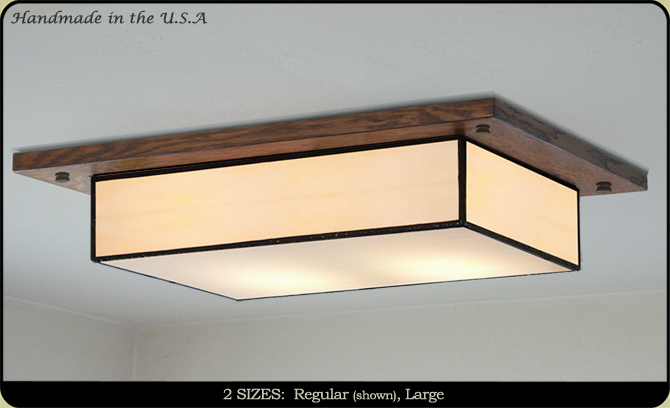 craftsman style ceiling lights photo - 4