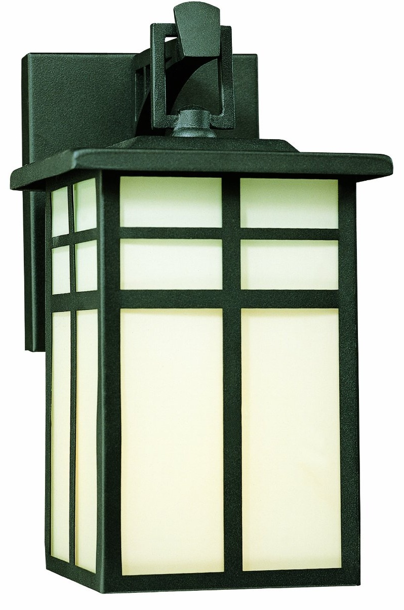craftsman style outdoor lighting photo - 2