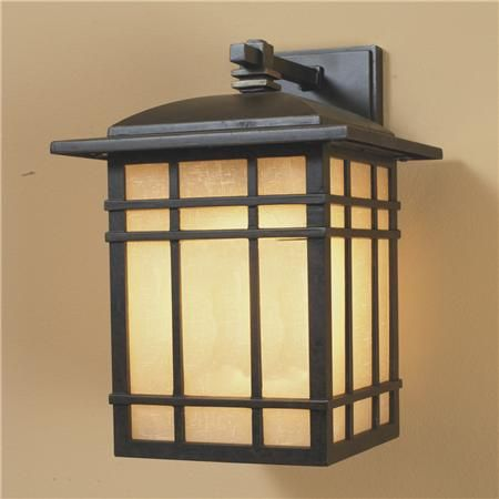 craftsman style outdoor lighting photo - 4