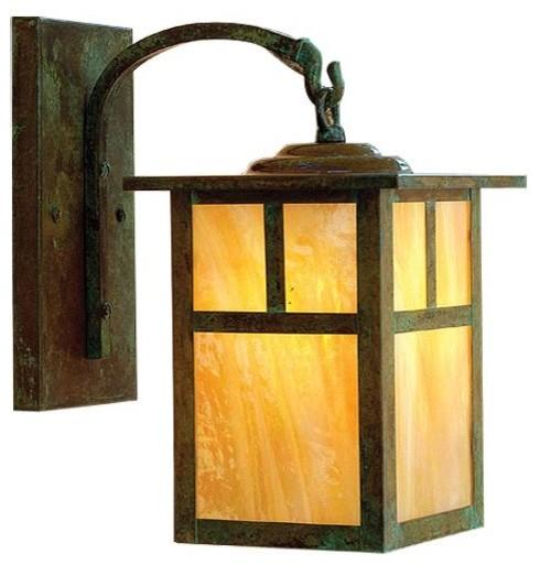 craftsman style outdoor lighting photo - 5