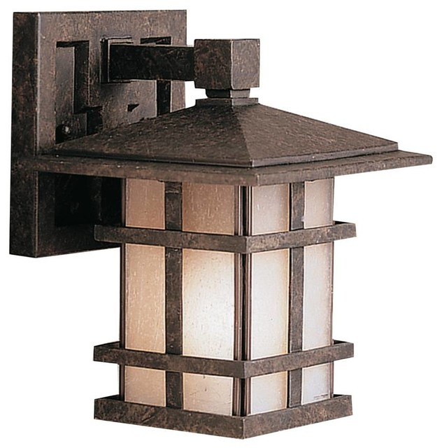 craftsman style outdoor lighting photo - 9