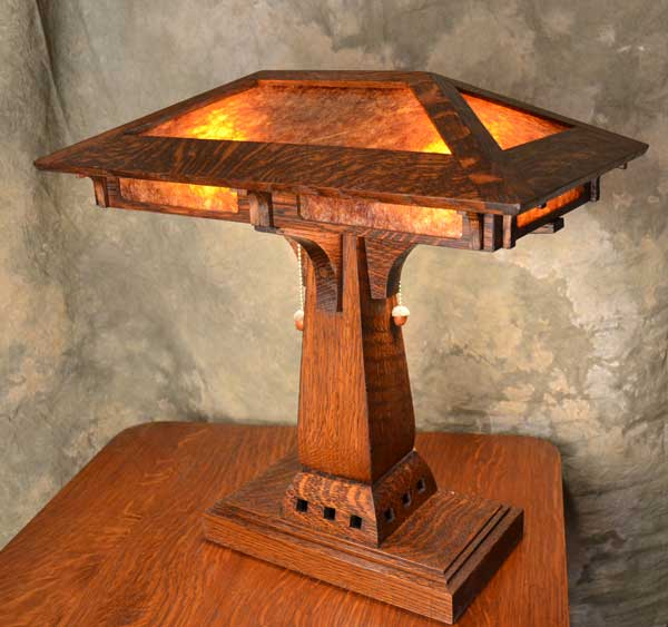 craftsman table lamps photo - 5