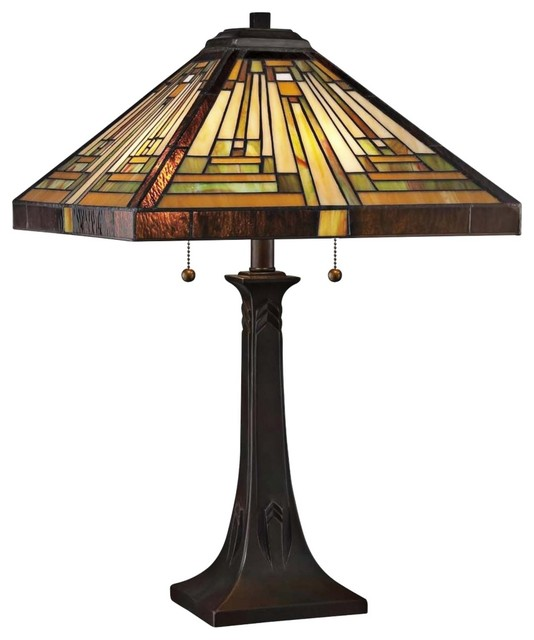 craftsman table lamps photo - 8
