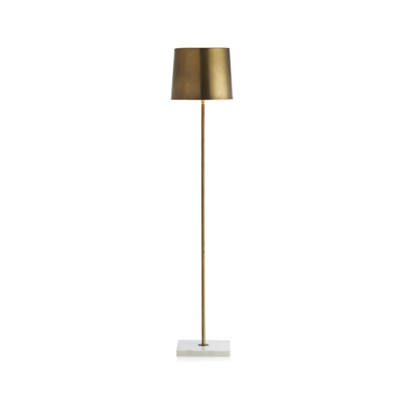 crate and barrel floor lamp photo - 1