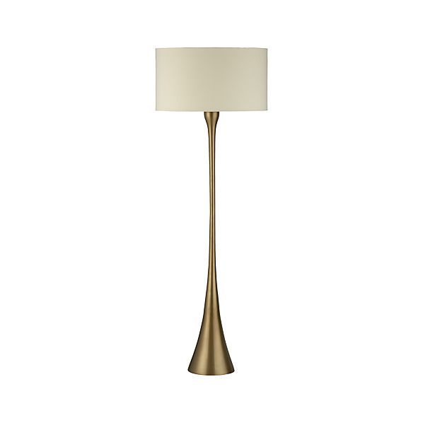 crate and barrel floor lamp photo - 3
