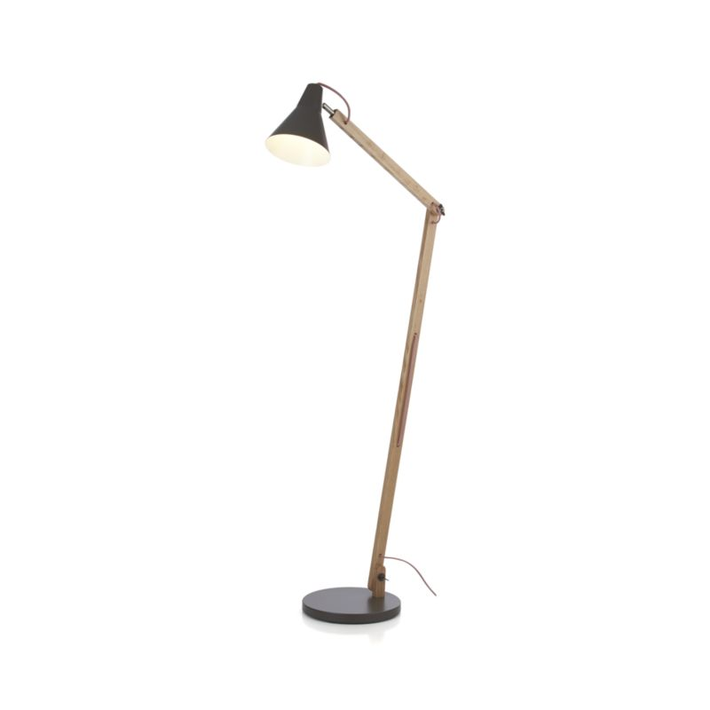 crate and barrel floor lamp photo - 6