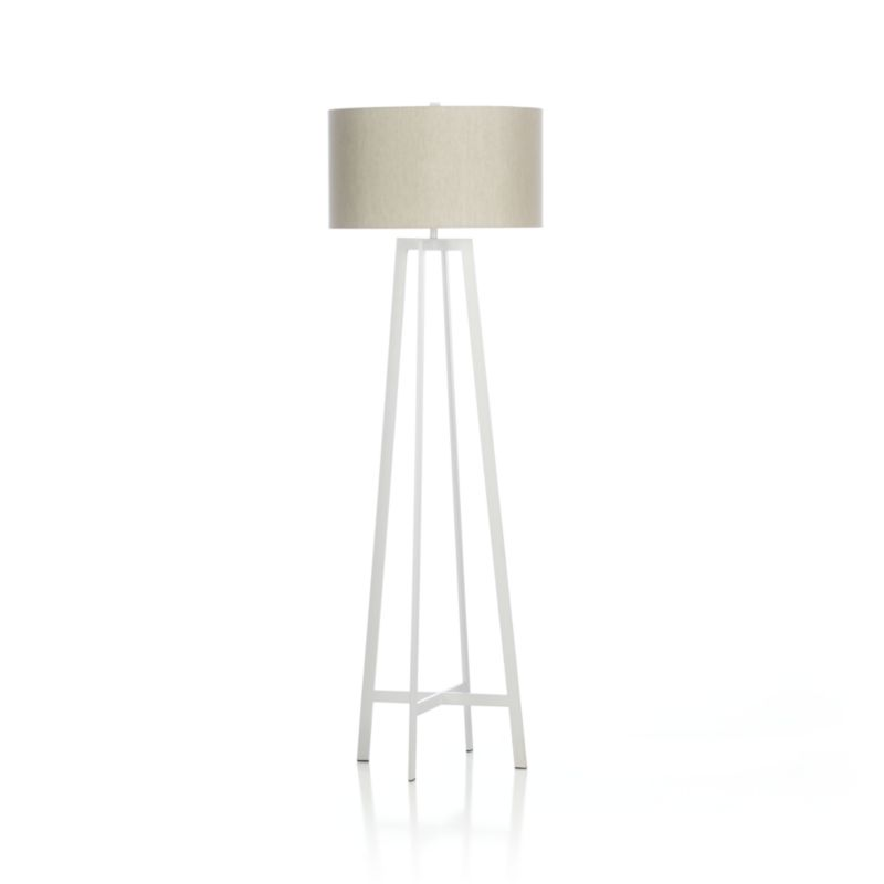 crate and barrel floor lamp photo - 8