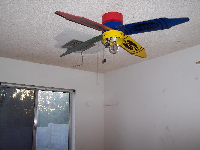 crayola ceiling fan photo - 1