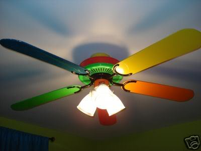 Crayola Ceiling Fan 12 Concentrations On Kids Choices