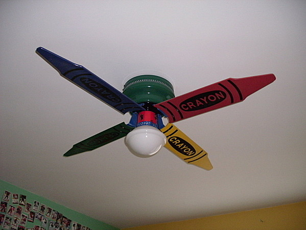 crayon ceiling fan photo - 6