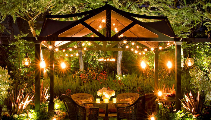 creative outdoor lighting ideas photo - 7
