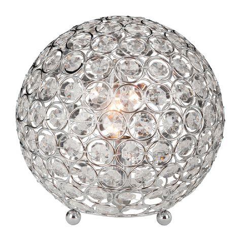 crystal ball lamps photo - 1