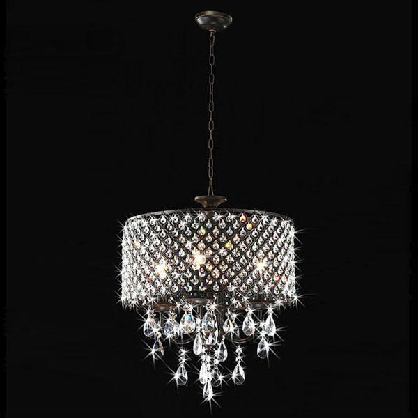 crystal ceiling fan light photo - 4