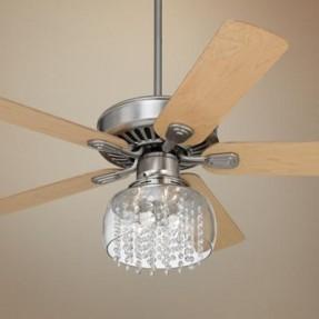 crystal ceiling fan light kit warisan lighting. Black Bedroom Furniture Sets. Home Design Ideas