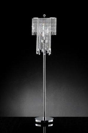Crystal Chandelier Floor Lamp Photo 6