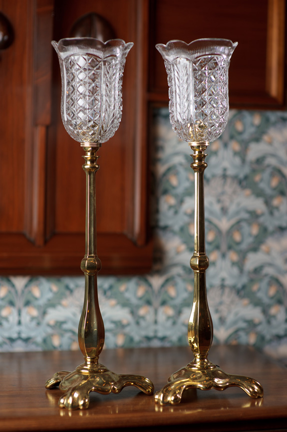 crystal chandelier table lamps photo - 9