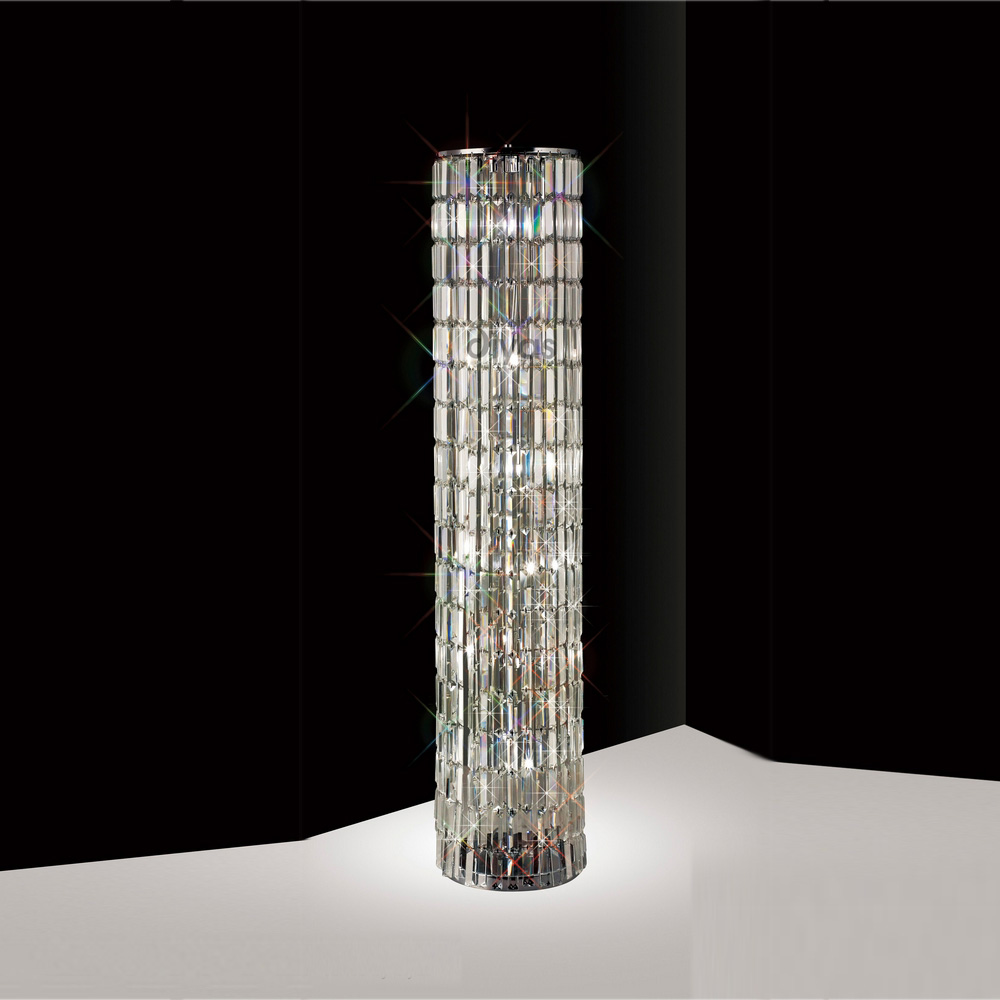 crystal floor lamps photo - 3 - Crystal Floor Lamps - Personalise Your Room With The Combination