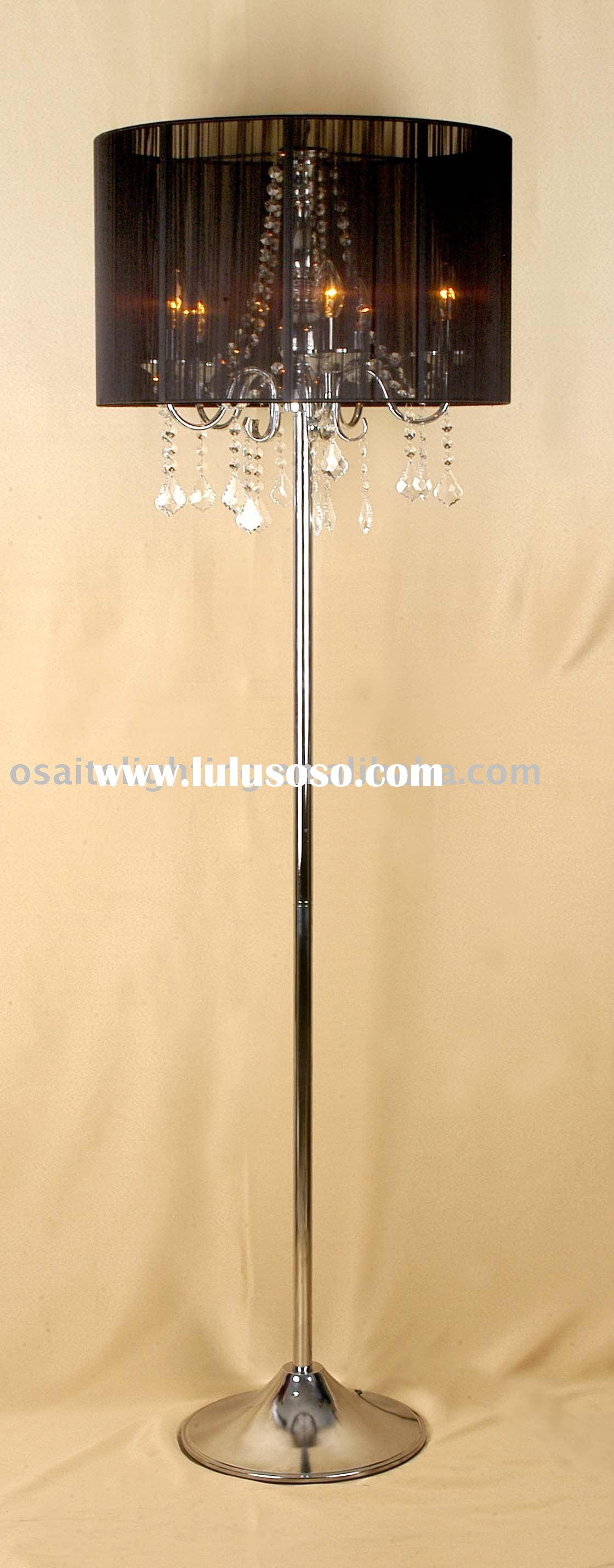 Crystal floor lamps personalise your room with the combination of crystal floor lamps photo 6 aloadofball Images