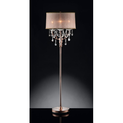 crystal floor lamps photo - 8