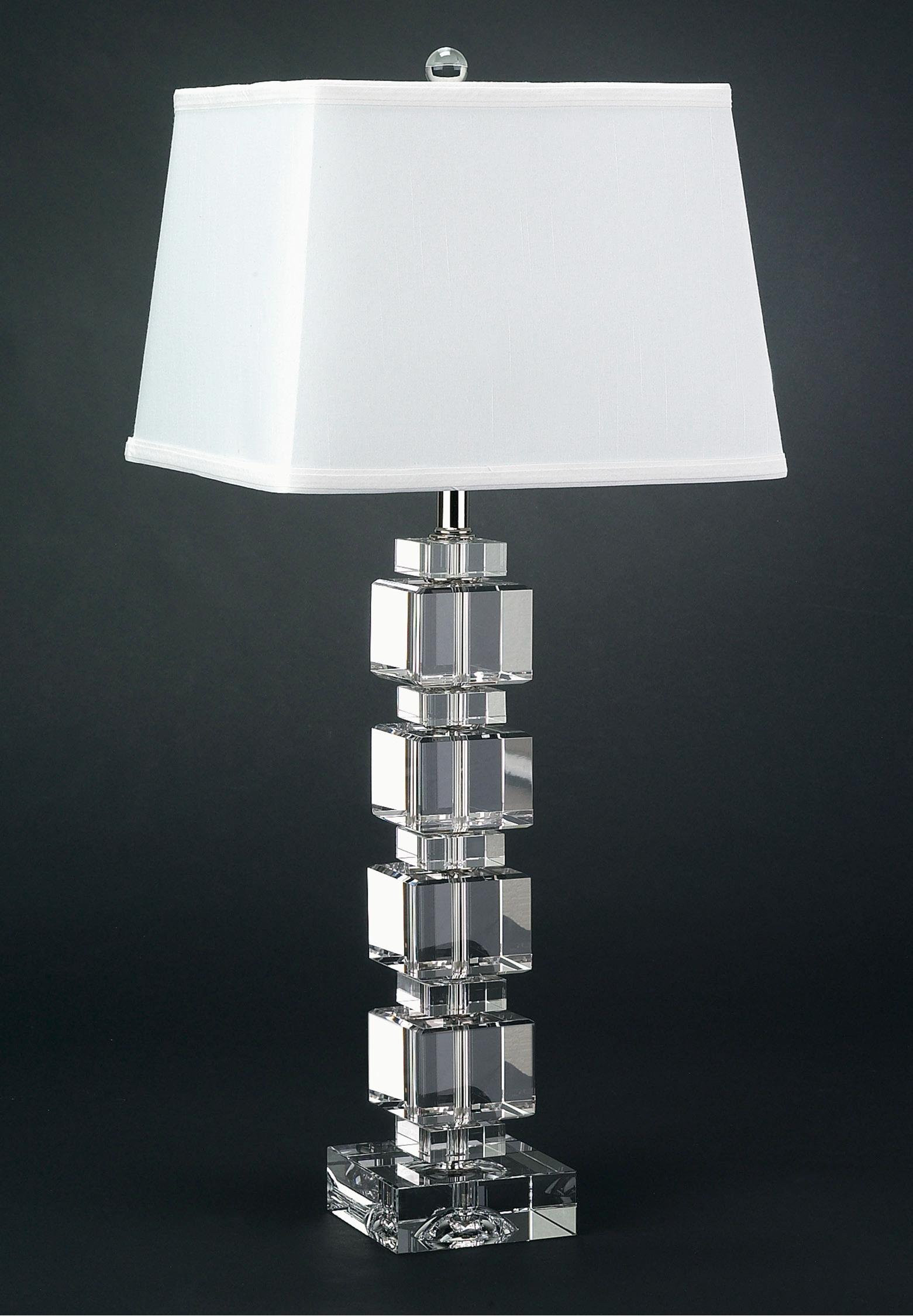 crystal lamps table photo - 10