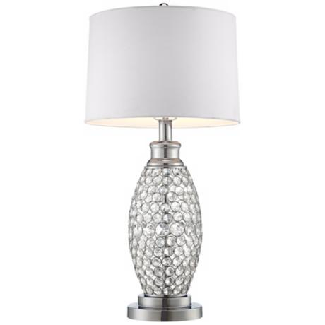 crystal lamps table photo - 9