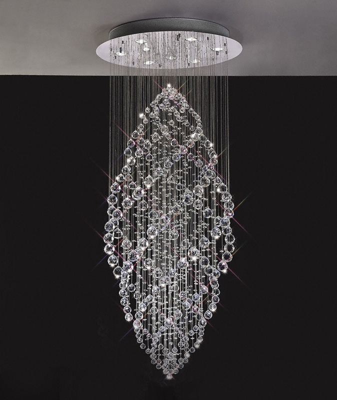 crystal pendant ceiling lights photo - 2