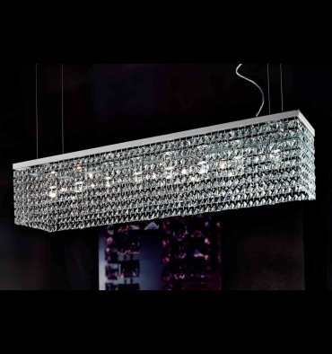 crystal pendant ceiling lights photo - 7
