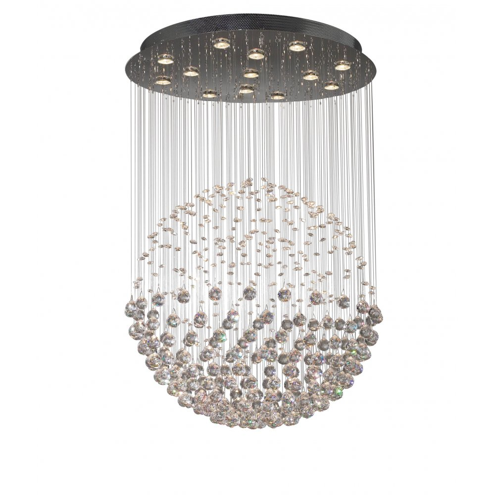crystal pendant ceiling lights photo - 9