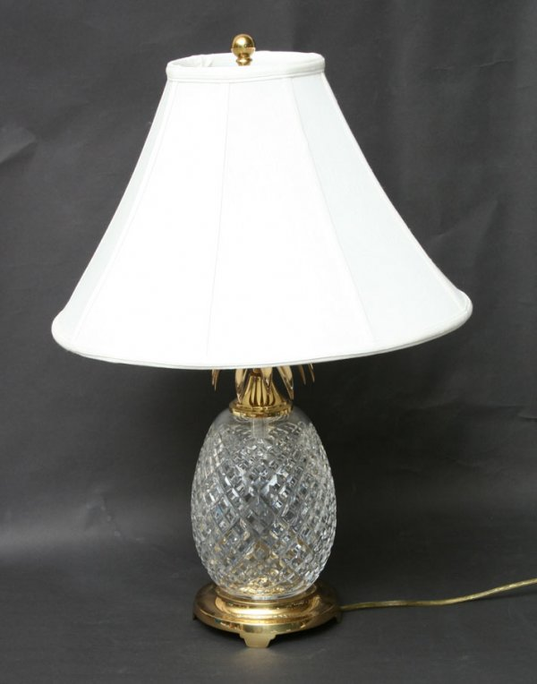 crystal pineapple lamp photo - 3