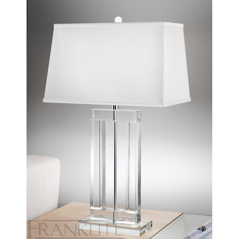 crystal table lamps photo - 1