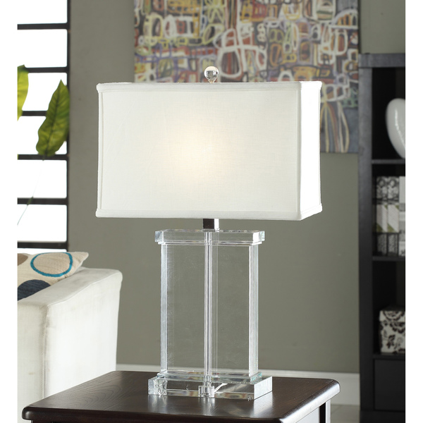 crystal table lamps photo - 5