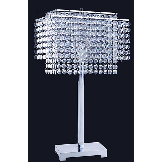 crystal table lamps photo - 8