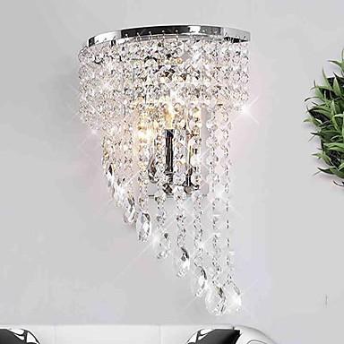crystal wall lamp photo - 9