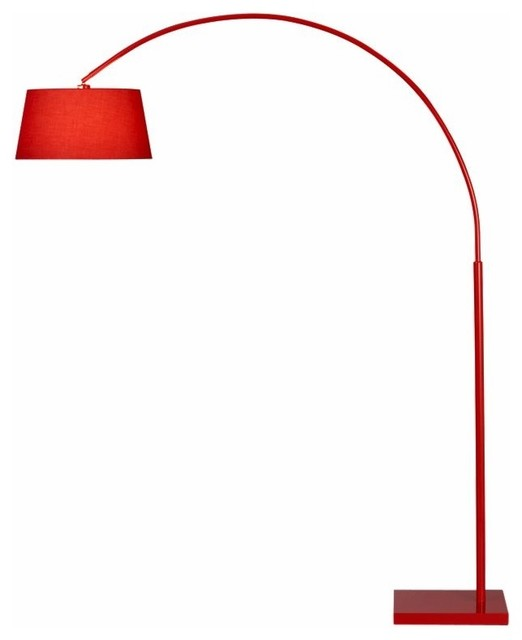curved floor lamps photo - 2