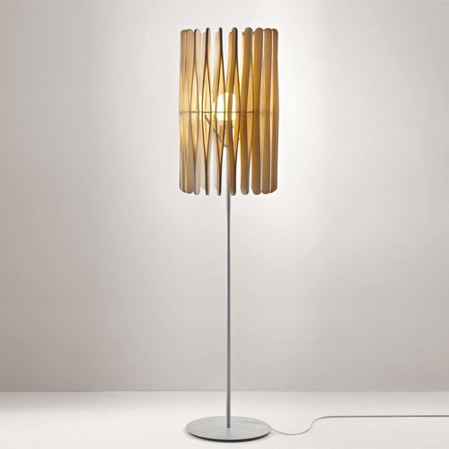 cylinder floor lamp photo - 2