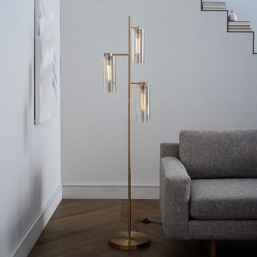 cylinder floor lamp photo - 5