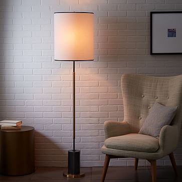 cylinder floor lamp photo - 7